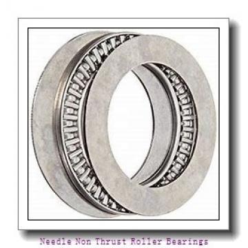 0.563 Inch | 14.3 Millimeter x 0.75 Inch | 19.05 Millimeter x 0.375 Inch | 9.525 Millimeter  KOYO B-96-OH  Needle Non Thrust Roller Bearings